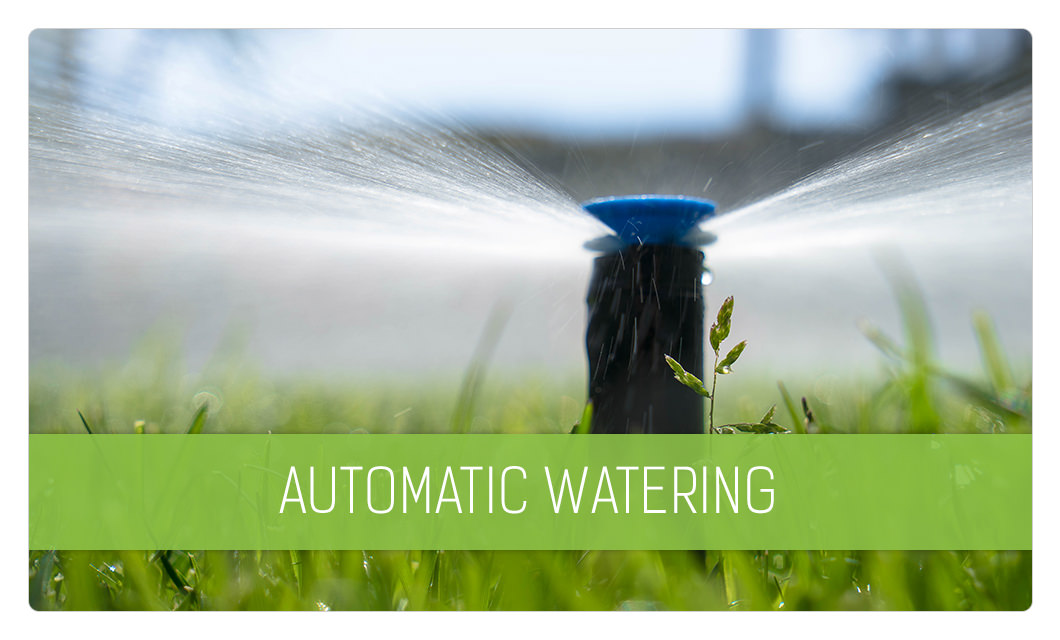 Automatic sprinkler maintenance in Cannes